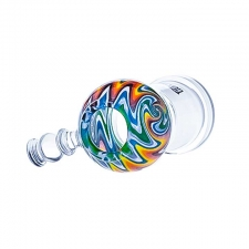 Hoss Glass Color Reversal Dome with Female Joint, Platinum Label YX32-C
