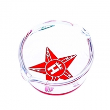 Hoss Glass Star Logo Concentrate Dish YX36-A