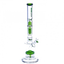 Hoss Glass Monster 15-Arm Diffuser 7 mm Base with Double Perc Top Tube Combo YX6