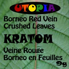 Kratom Borneo Red Vein Crushed Leaves