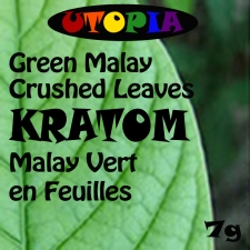 Kratom Green Malay Crushed Leaves
