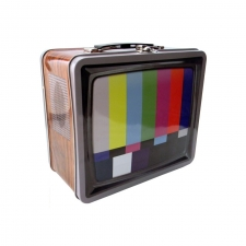 "Lunch Box 7.75"" x 6.75"" - Retro TV"