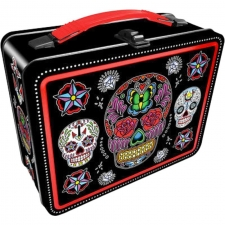Lunch Box Gen 2 - Sugar Skulls Black