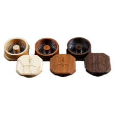 Magic Flight Launch Box Vaporizer Finishing Wood Grinders