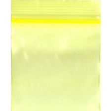 Yellow 1.25x1.25 Inch Plastic Baggies 100 pcs.