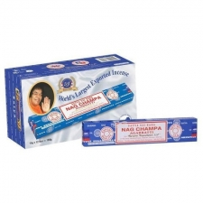 Nag Champa Incense Sticks 15g - Box of 12 Packs