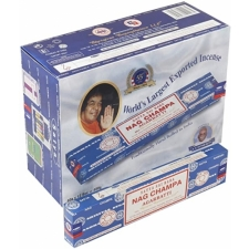 Nag Champa Incense Sticks 40g - Box of 12 Packs
