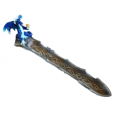 Mystical Blue Dragon Incense Holder