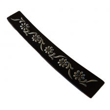 Flower Soapstone Incense Holder