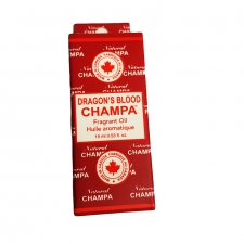 Nag Champa Fragrant Oil Bottle 15ml - Dragon Blood