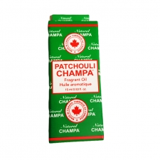 Nag Champa Fragrant Oil Bottle 15ml - Patchouli