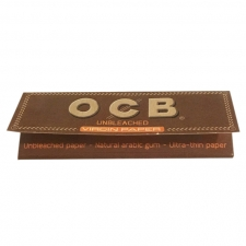 OCB Unbleached 79mm Rolling Papers 1 1/4