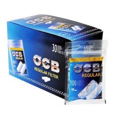OCB Filter Tips Box of 30 Packs