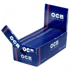 OCB Ultimate Regular Single Width Rolling Papers Box 50 Packs