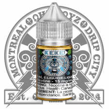 OhmBoyz -- KeKe -- Nicotine Salt E-Liquid -- 30ml -- Cool City