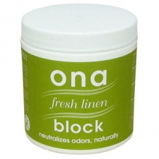 Ona Block Fresh Linen Odor Neutralizer 6oz