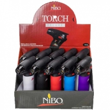 Nibo Easy Grip Mini Torch Lighter - Case of 10