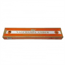 Amber Sai Baba Nag Champa 15g Incense sticks Pack