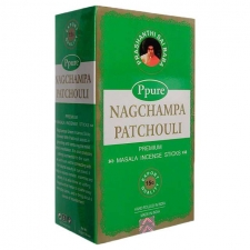 Nag Champa Patchouli Incense Sticks 15g - Box of 12 Packs