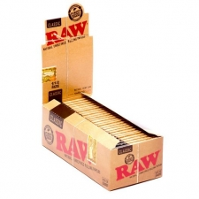 Raw Classic 1 1/2 Rolling Papers Box (24 Packs)