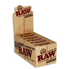 Raw Perforated Gummed Tips Box of 24 Pack