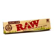 Raw Organic Hemp King Size Slim Rolling Papers