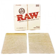 3 x 3 Raw Parchment Paper Sheets - Pack of 500