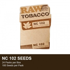 Raw Tobacco seeds - NC 102