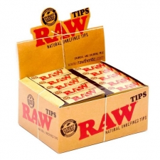 Raw Rolling Papers Tips Regular Box (50 Booklets)