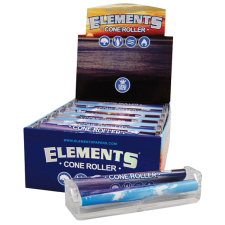 Acrylic King-Size Cone Rolling Machine from Elements - Box of 12
