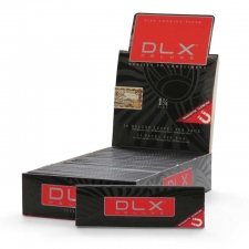 DLX Deluxe 1 1/4 Rolling Papers 79mm Box of 25 packs