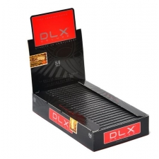 DLX Deluxe 84mm Rolling Papers Box of 25 packs