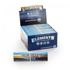 Elements King Size Slim 110mm Connoisseur Rolling Papers with Tips 1 Box