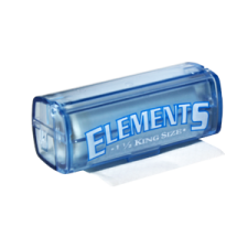 Elements King Size 110mm Rolling Papers Roll with Plastic Case 1 Box