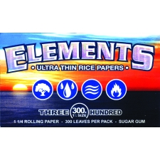 Elements 79mm 300 leaves Rolling Papers Box
