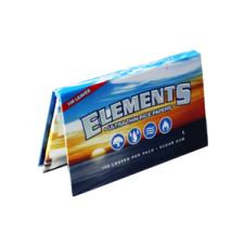 Elements Single Width Double Window 70mm Rolling Papers Pack