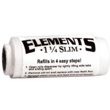 Elements Single Width 70mm Rolling Papers Roll Refill 1 Box