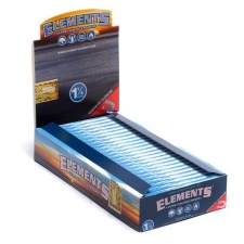 Elements 1 1/4 Rolling Papers 79mm 1 Box of 25