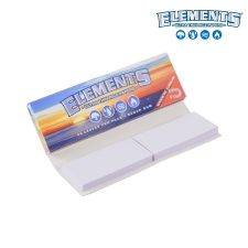 Elements 1 1/4 79mm Connoisseur Rolling Papers with Tips
