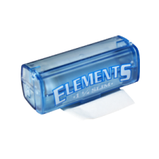 Elements 1 1/4 79mm Rolling Papers Roll with Plastic Case 1 Box