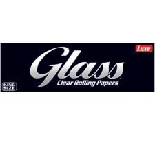Glass Clear King Size 110mm Rolling Papers Pack