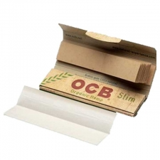 OCB Organic Hemp King Size Slim 110mm Rolling Papers with Tips