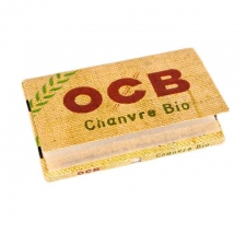 OCB Organic Hemp Single Width 70mm Rolling Papers Box (25 Packs)