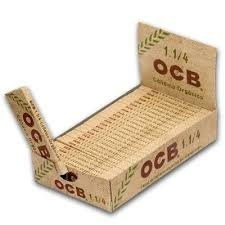 OCB Organic Hemp 1 1/4 Rolling Papers 79mm Box of 25 packs