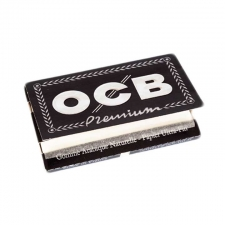 OCB Premium Single Width Double Window 70mm Rolling Papers (25 Packs)