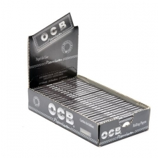 OCB Premium 1 1/4 Rolling Papers 79mm Box of 25 packs