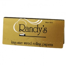 Randy's Wired Gold King Size Rolling Papers 110mm Pack