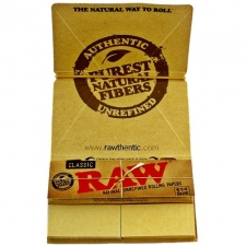 Raw Classic 1 1/4 Artesano 79mm Rolling Papers with Tips and Tray