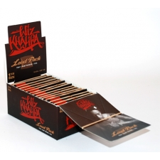 Raw Classic Wiz Khalifa 1 1/4 Artesano 79mm Rolling Papers with Tips and Tray Box of 15 Pack