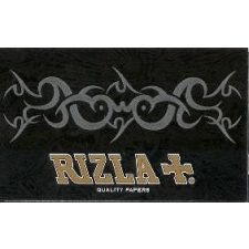 Rizla Black Slow Burn Double Window Regular Rolling Papers Pack